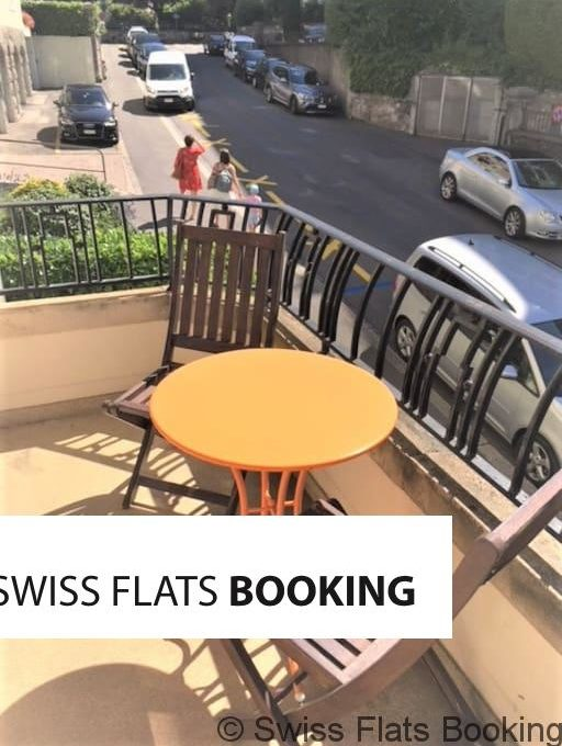 APPARTMENT AT LAUSANNE DOWN TOWN WITH BALCONY