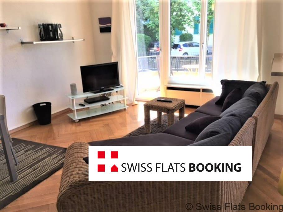 Furnished Apartment with Balcony, Lausanne
