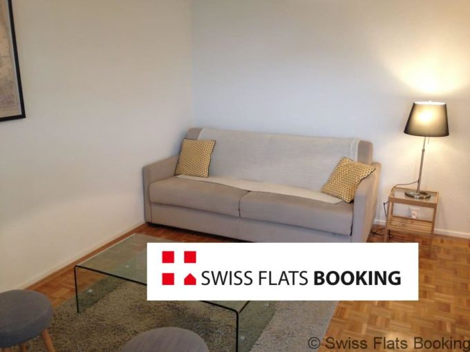 Furnished 1.5 Rooms Apartment – Lausanne