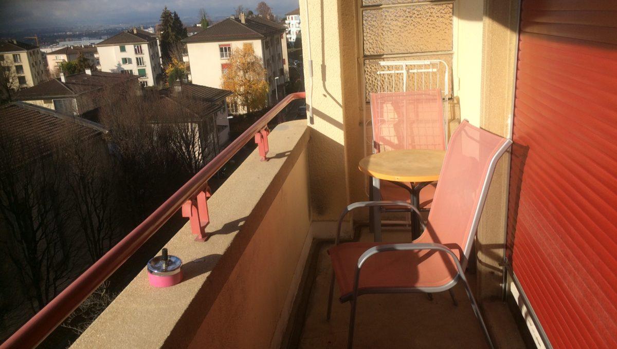 Sévery 2, Lausanne 1004, Balcony