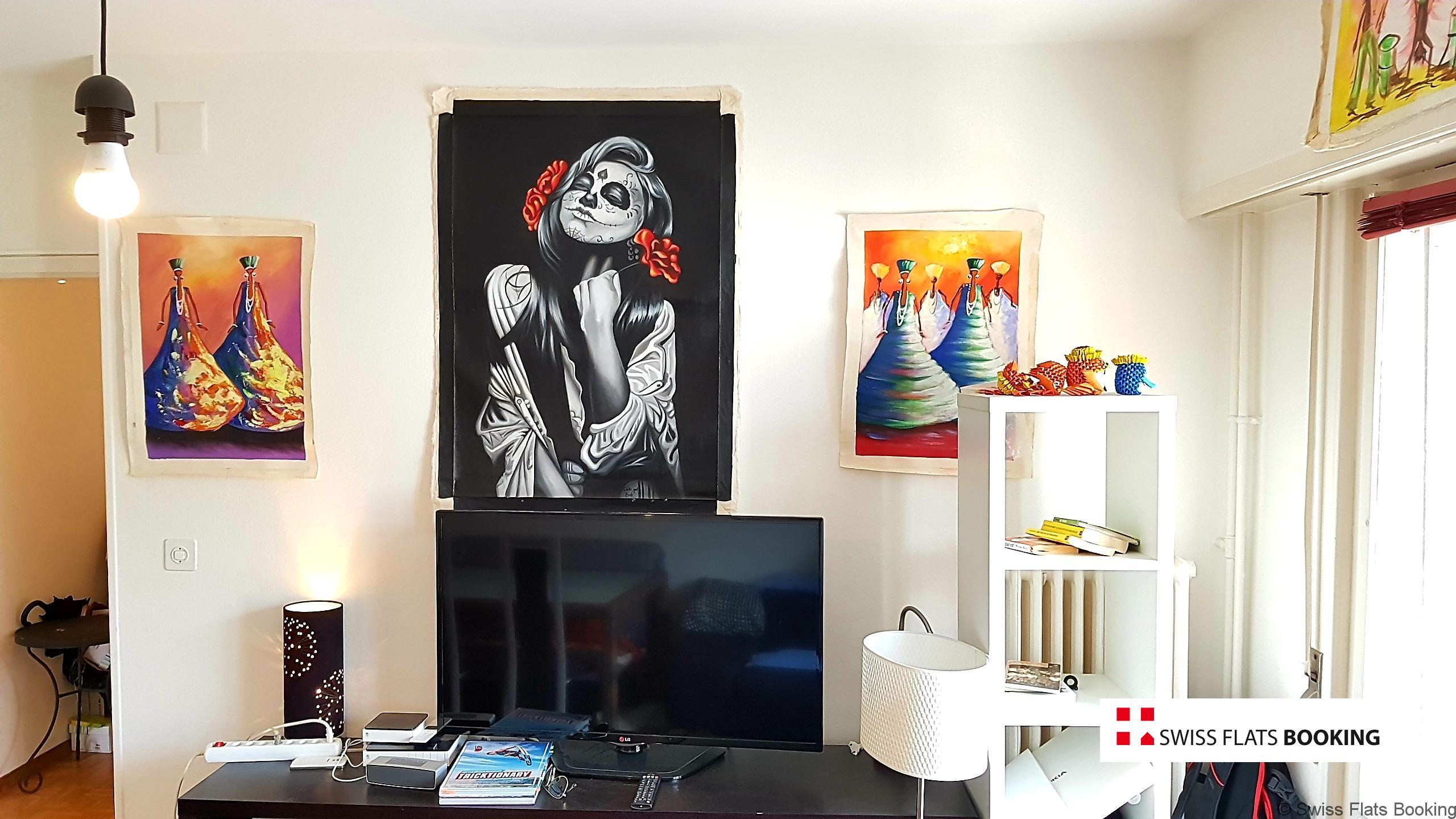 Appartement meublé, Harpe 20B, Lausanne