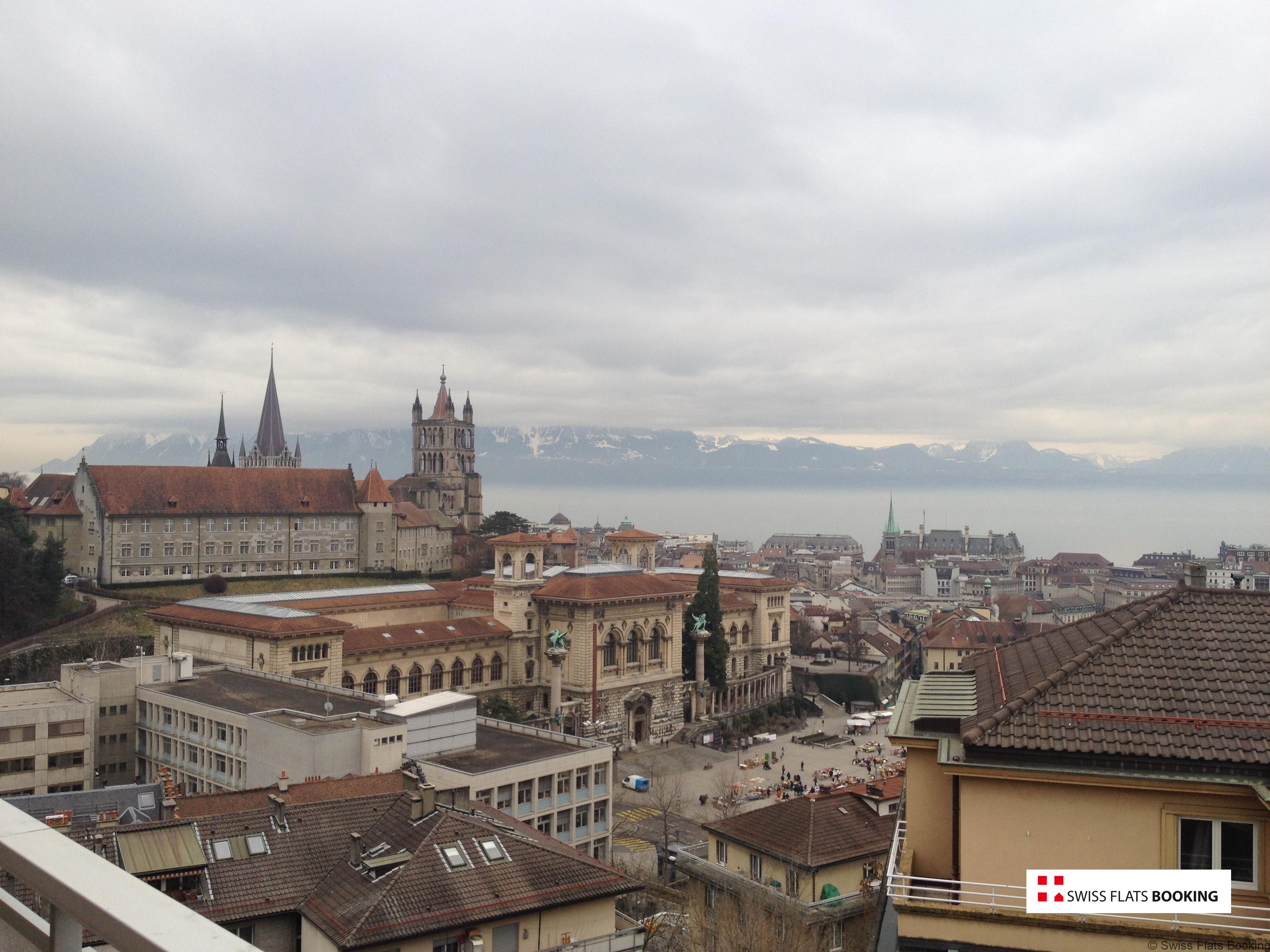 Furnished Apartment 1.5 Rooms Lausanne