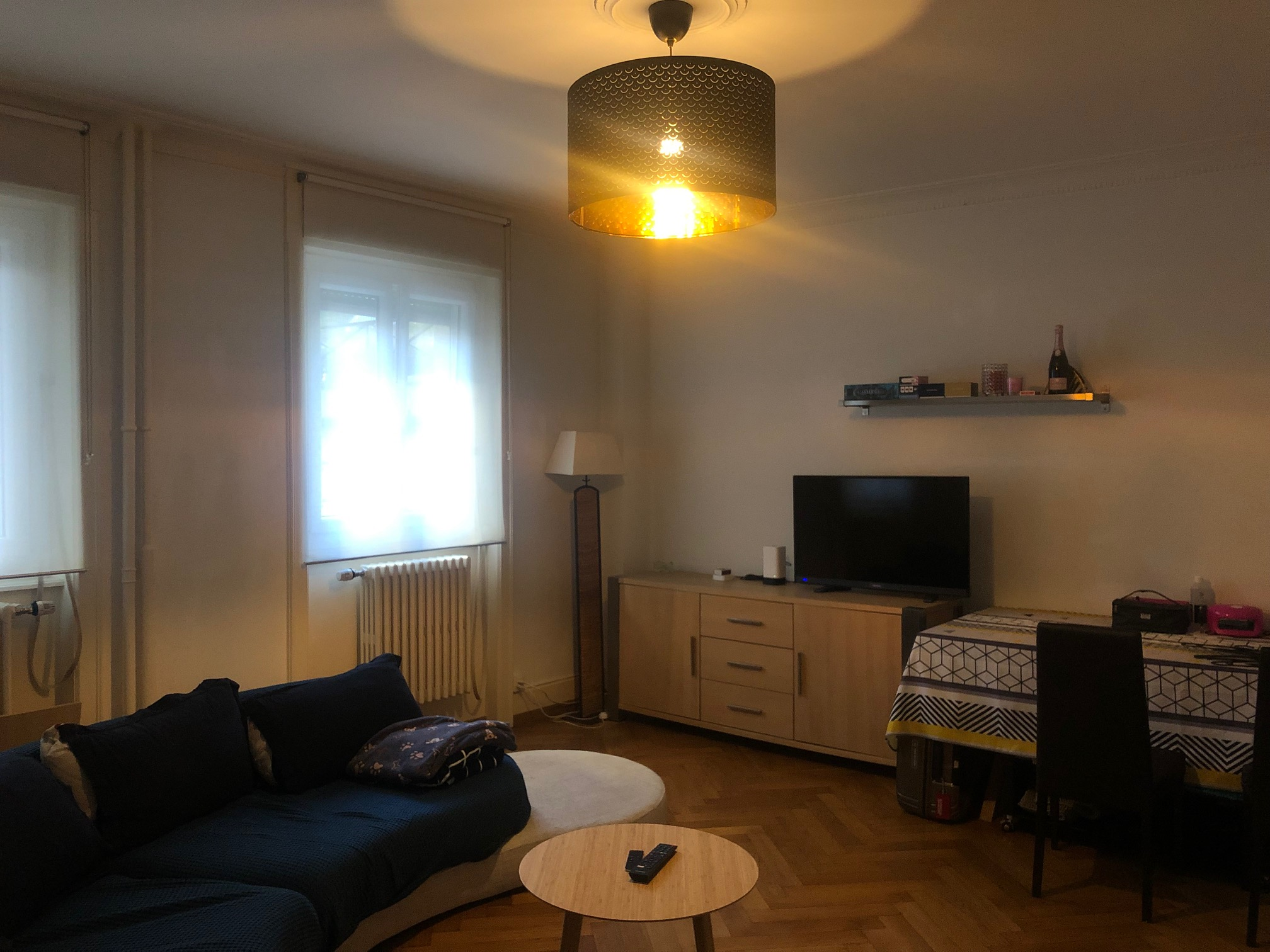Furnished 2.5 room apartment close to the train station Lausanne