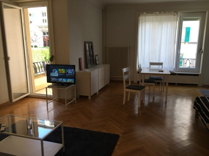 1.5 rooms apartment Lausanne