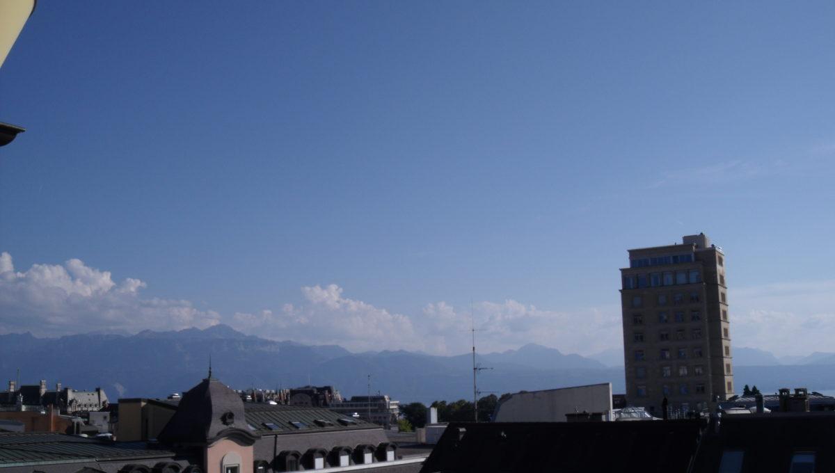 View-vue depuis l'appart au 5em etage