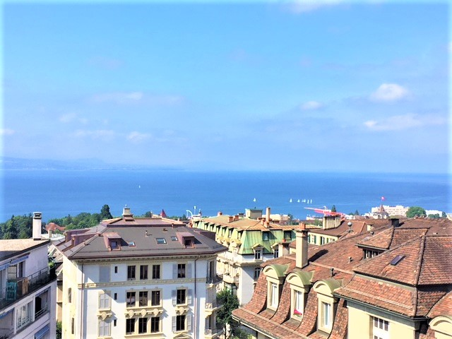 Big and bright apartment with lake view close to Lausanne city centre and train station (56)