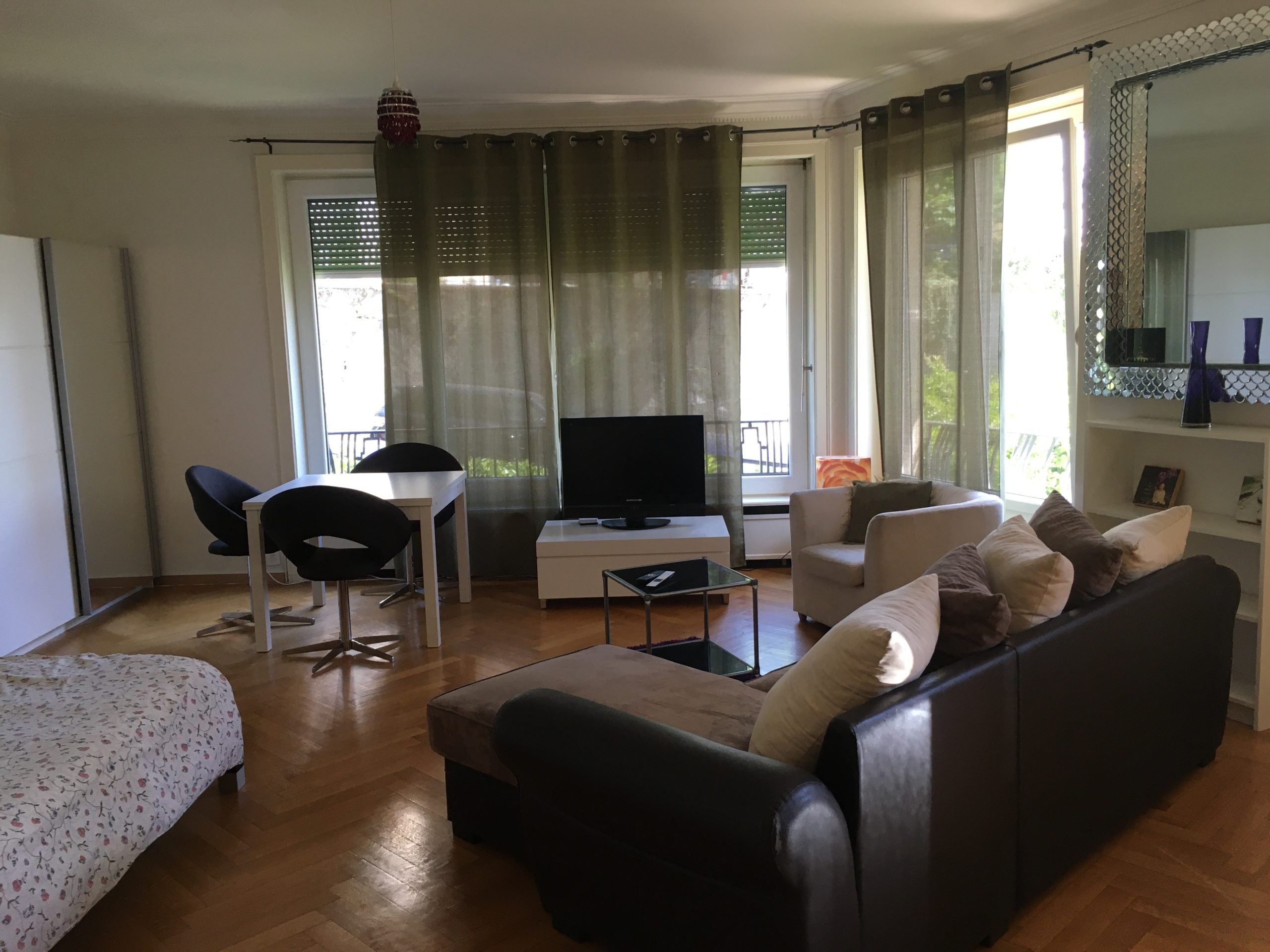 Spacious studio close to Lausanne city centre and the train station (6)