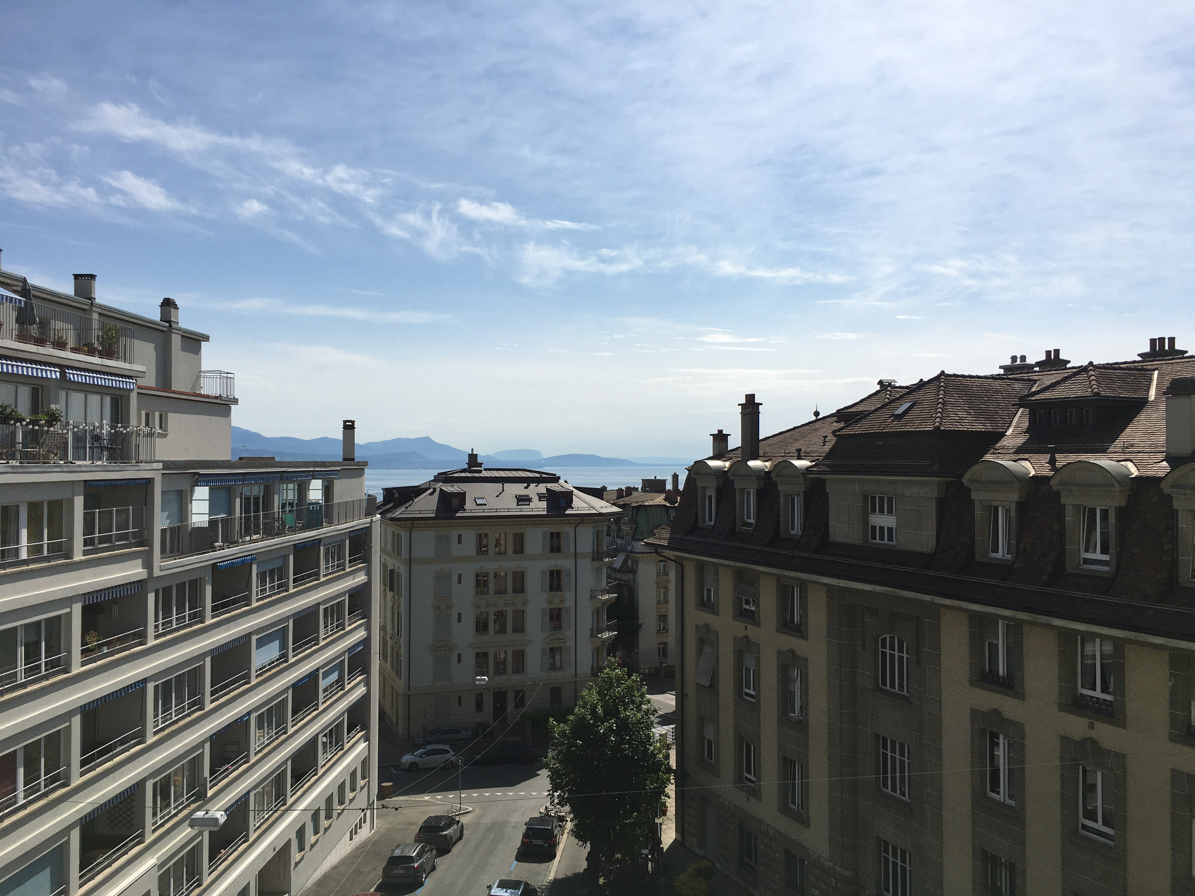 Bright and charming studio with lake view close to Lausanne's train station (36)